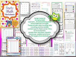 Early math worksheets