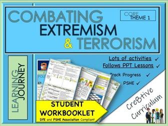 Extremism Terrorism  Work Booklet PSHE