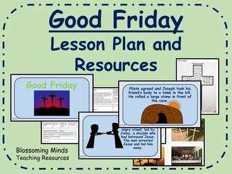 Good Friday Lesson Plan  (Easter) - KS2