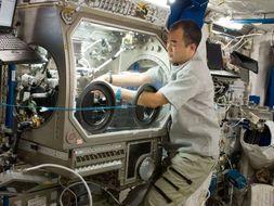 La vie de tous les jours pour les spationautes de l'ISS-Worksheet in french