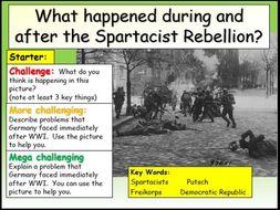 Spartacist Rebellion
