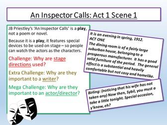 An Inspector Calls Act 1
