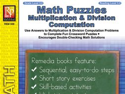 Math Puzzles: Multiplication & Division Computation