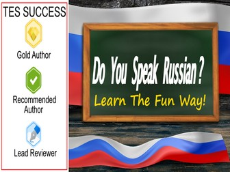 Learning Russian Bundle - Learn Russian The Fun Way!