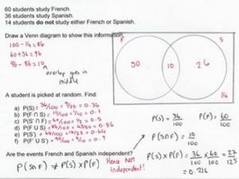 Venn Diagrams & Probability