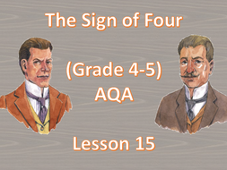 Chapter 9 (Part 1) - Lesson 15 (The Sign of Four)