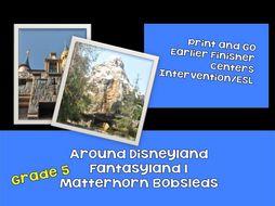 Journeys through Reading: Grade 5 - Disneyland: Fantasyland 1: Matterhorn Reading and LA