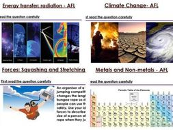 KS3 Science Extended Writing Questions