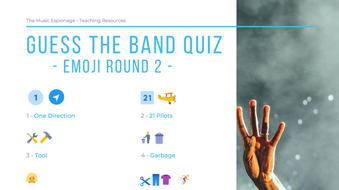 Name the Band/Song Music QUIZ - 7 FULL QUIZZES!!!