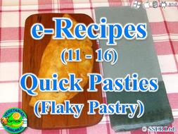 50. Quick Flaky Pastry Pasties (e-Recipe)