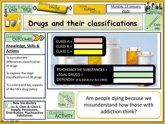 Drugs - Legal classifications