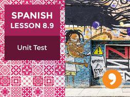 Spanish Lesson 8.9: Nuestra Historia - Unit Test
