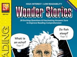 Wonder Stories (Reading Level 2)