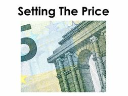 Starter For Ten Enterprise Project. Lesson Eight - Setting the Price