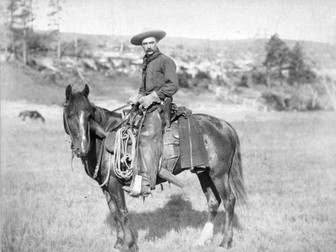 Card Sort: American Cowboys and their Equipment