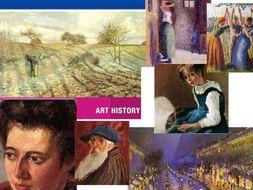 Camille Pissarro ~ Impression + Pointillism ~ Art History ~ Art ~ 153 Slides ~ Public Domain