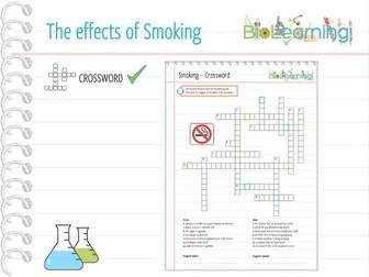 Smoking - Crossword Puzzle