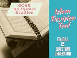 Eduqas GCSE Religious Studies test questions - Islam units