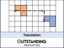 Transformations 1 - Translation (+ worksheet)