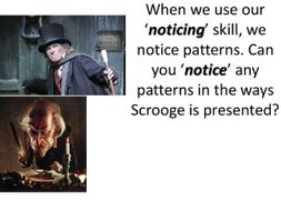 describe scrooge in a christmas carol