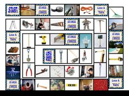 House Repairs Tools & Supplies Board Game