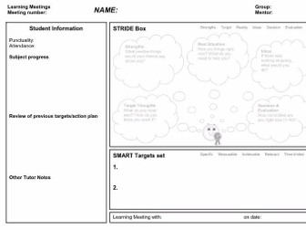 Learning Meeting Template (PDF)