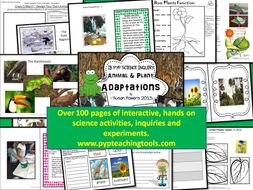 A Complete IB PYP Unit of Inquiry Adaptations of Living Things
