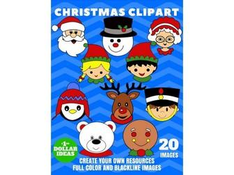 CHRISTMAS CHARACTERS   CHRISTMAS CLIPART