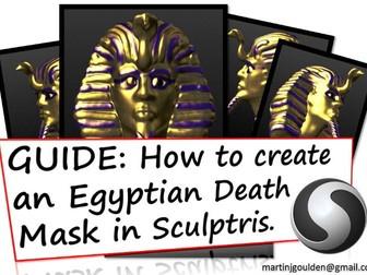GUIDE Create a 3D Ancient Egyptian Death Mask - Sculptris