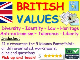 British Values:  British Values Pack