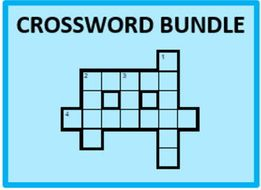 D'accord 2 Vocabulary Crossword Bundle