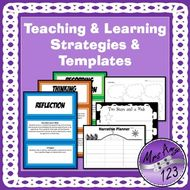 Teaching and Learning Strategies and Templates/Proformas