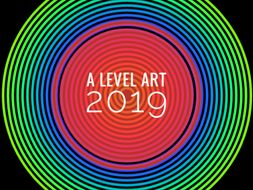A level Art Back to School Bundle 2019