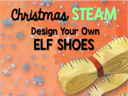 Christmas STEAM: Design Your Own Elf Shoes