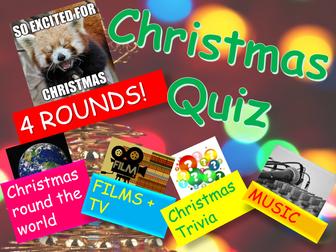 Christmas Quiz: Christmas Quiz 2017