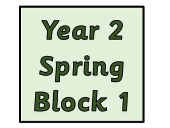 Year 2 - Spring Block 1 Multiplication and Division (Block 5)