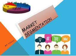 A level Market Segment edexcel and AQA