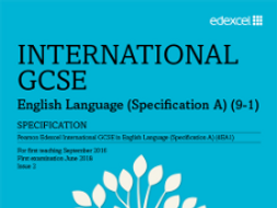 Edexcel IGCSE Language Paper 1 with Passage to Africa