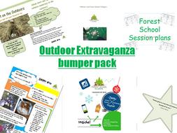 Outdoor/ forest school activity bumper pack extravaganza!