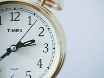 Year 4: Mathematics - Time