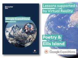 Poetry analysis #GoogleExpeditions Lesson KS3 KS4