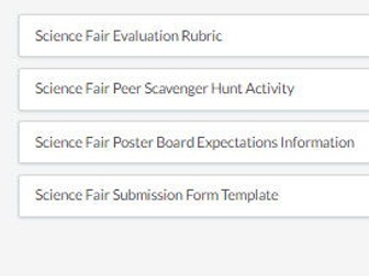 science fair poster board expectations information, Powerpoint templates