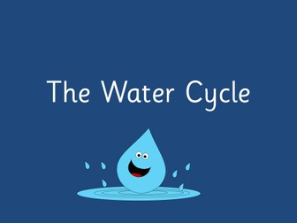 The Water Cycle Topic Planner