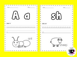 Phonics Worksheets 2 - Jolly Phonics
