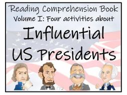 UKS2 History - Influential US Presidents Volume I Reading Comprehension Book