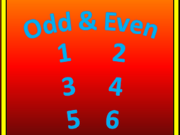 Odd and Even Number Mazes