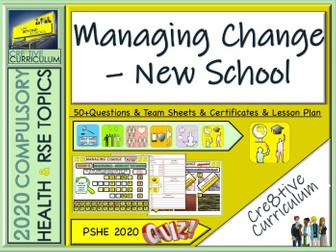 Managing Change - End of Year Transition Quiz