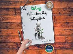 Photosynthesis Factors