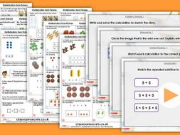 Year 1/2 Mixed Age Spring Block 1 Step 15 Maths Lesson Pack