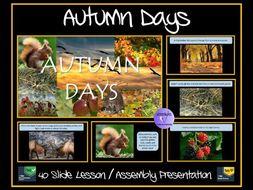 Autumn Days Presentation